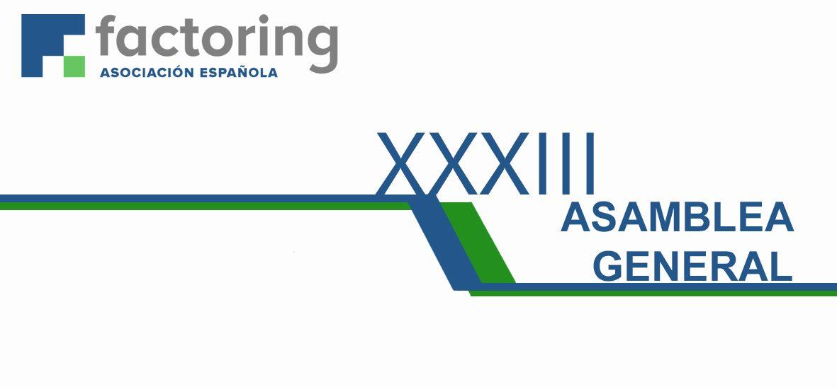 Alvantia patrocina la XXXIII Asamblea General de la Asociación Española de Factoring