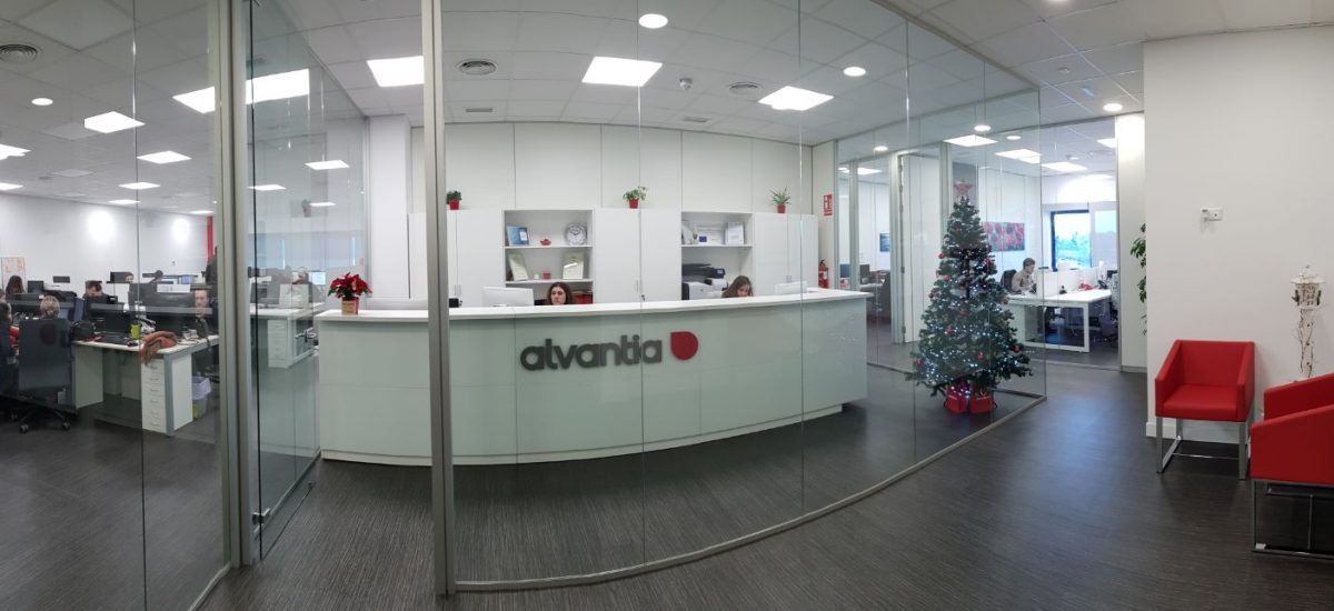 Christmas has arrived at Alvantia's office!