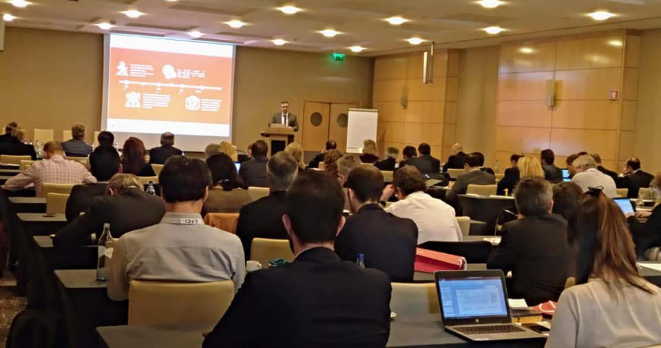 José Antonio Garrote presents the historical evolution of Confirming in the Eu Factoring and Commercial Finance Summit